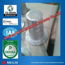 stainless steel basket strainer with handle/ handle filter