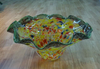 Decorative Glass Fruit Bowl With Beautiful Design