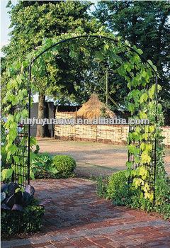 artstico decorativo hierro jardn arco con el banco para la boda