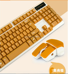 new design manufacturer sell high quality wireless keyboard mouse combo