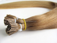 unprocessed indian temple pre bonded hair extensions