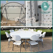 hot sale plastic folding table and chair