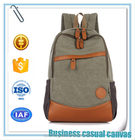 men's backpack ,Fashion Leisure canvas bag&Business Casual