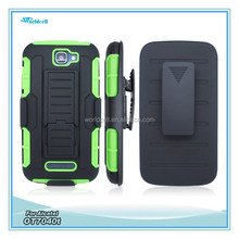 belt clip holster for Alcatel OT7040T with belt clip and kickstanding