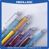 2015 New Product!Custom crystal stylus pen for advertising/New High quality Crystal Metal Pen/ Promotion Crystal pen small order