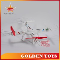 Outdoor Toy 2.4G big quadcopter rc helicopter drone with colorful light
