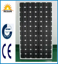 Resun top quality monocrystalline 12v 50w solar panel for EU and US