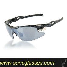 precio barato del deporte gafas de sol con la lente polarizada logotipo ocular