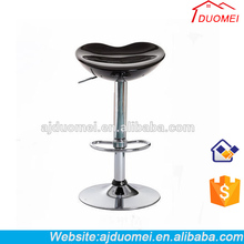 Loving Heart Type ABS Swivel Bar Stools in Different Colors