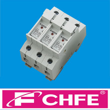 FCHFE - CF05 RT18-32X 10X38 3P 32A 500V Cylindrical fuse holder