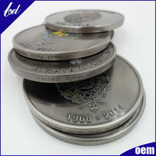 Hot products Creative gifts high quality fashional coin medal
