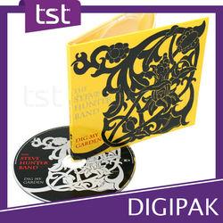 Terrific Plastic Tray CD / DVD Case Packaging & Printing