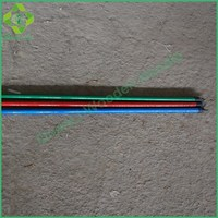 Floor Sweeping Round Wooden Broom Handle Wood Mop Rod Coated PVC