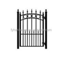 iron powder coated lowes iron gates