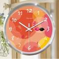 Alumínio relógios de parede