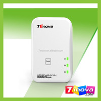 Stable 500M Mini PLC Powerline network Mini Homeplug AV Ethernet Adapter Plug and Play Adapter