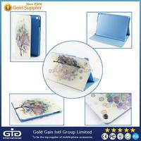 [GGIT] Colorful Tree Pattern Flip Cover For iPad Mini, For iPad Mini Case