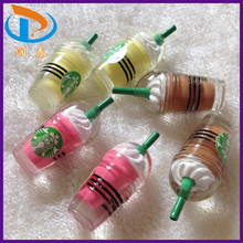 Accept OEM!! Wholesale Mixed Color Starbucks Fashion Resin Cabochons For Decorative Making