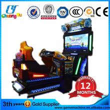4D sonic coin pc game mechanism / amusement park cars for sale