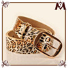 Made in thailand products of fashion leopard print wide leather corset belts for girl