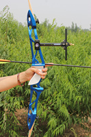 Free shipping wholesale archery bow Aluminium riser archery recurve bows