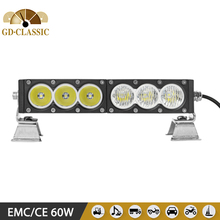 11.5INCH 60W LED OFFROAD BAR KR9014 NEW AMBER LED LIGHT BAR high quality used for car 4X4