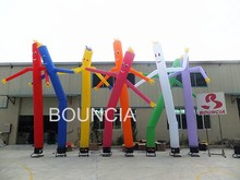 Single leg inflatable air dancer for sale, cheap inflatable air dancer in stock, inflatable sky dancer for outdoor advertising