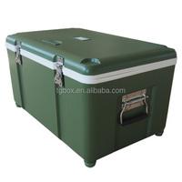New-design 40L insulated plastic portable cooler box
