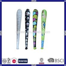 Bulk custom inflatable PVC baseball bat for promotion