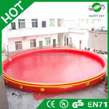 2015 Popular sale red inflatable pool toys, inflatable water pool for sales,piscina juguetes inflables