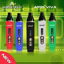 Airis VIVA smallest digital dry herb portable vaporizer ,digital vaporizer pen