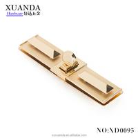 new style rectangle hardware handbag twist lock