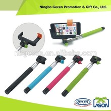 100% customized color selfie stick with bluetooth