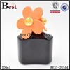 100ml free sample perfume bottle with flower cap