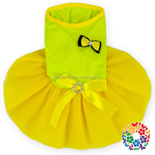 Factory Outlet Pet Apparel Dog Tutu Harness Dress Cute Couture Pet Dog/Cat Clothes Pattern