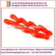 De arrastre de plástico de la cadena transportadora/del listón del transportador de cadena