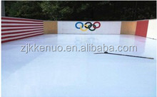 Hockey customized composite HDPE rink / OEM ice skating UHMWPE sheet