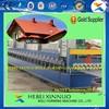 2015 canton fair hebei xinnuo 780 Metal roof Muskoka step roof tile roll forming machine