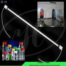 el calor infrarrojo de la lámpara tipo de botella de la máquina que sopla