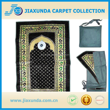 New 50*100cm muslim pocket portable mosque prayer rug from china