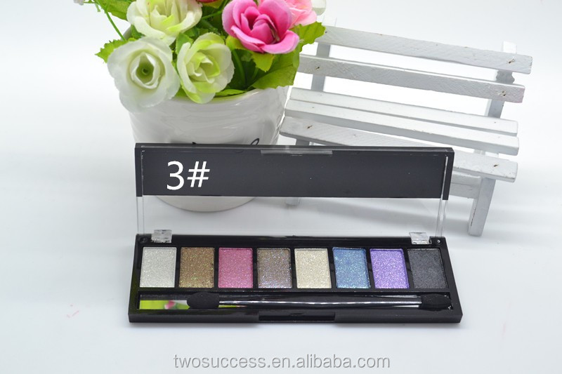 Smokey 8 colors pigmented silky smooth eye shadow palette, private label cosmetics makeup, custom makeup palette (3).jpg