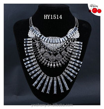 2015 new fashion crystal necklace diamond necklace for women party,wedding jewelry