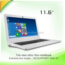 11.6 inch mini laptop with Intel Baytrail CR Z3735F 2GB/32GB