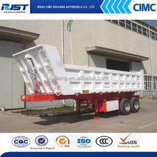 China Best Quality Two Axles Tipper Trailer For Sale
