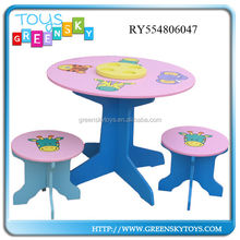 wooden toy multi function school student desk