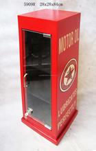Restaurant Decoration display storage cabinet, vintage white bar cabinet,industrial furniture,vintage furniture
