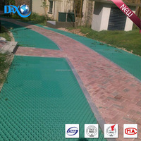 HDPE plastic grids turf cell grass paver for garden