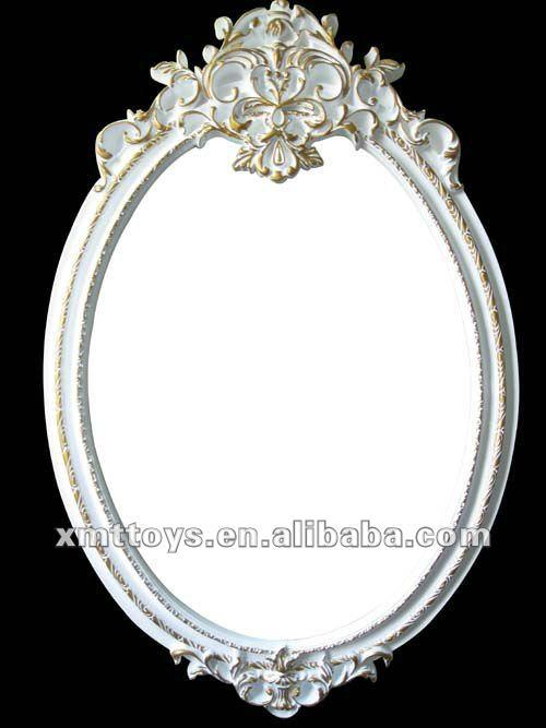 Antiguo marcos de espejos tallado espejos identificaci n for Modelos de marcos para espejos