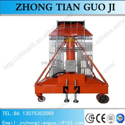 2015 Hot sale new model telescopic cylinder lift tables with 26m/28m/30m