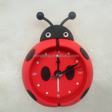 2015 newest silicone cartoon beatles table clock